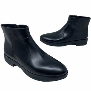 Fitflop Womens Maria Ankle Boots Chelsea Black New